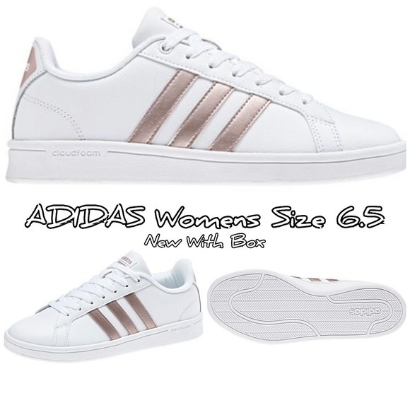 more photos 74f1e 4645a ADIDAS Women s cloudfoam Advantage Stripe Shoes